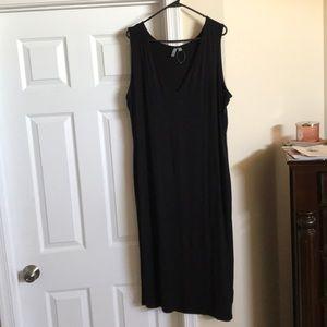 Asos Curve Black Midi Dress US 20